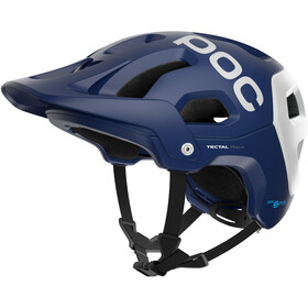 POC Tectal Race Spin Casco, lead blue/hydrogen white matt